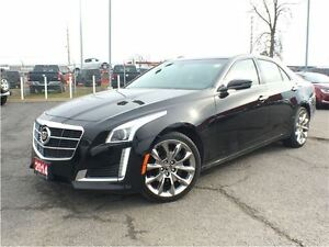 2014 Cadillac CTS 2.0L TURBO**AWD**LEATHER**REMOTE START**BLUETO