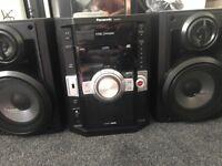 5 changer CD player tape player USB port radio