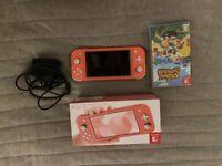 Nintendo Switch Lite 2020 Pink - Like Brand New