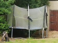 Trampolines for sale. Old Used. net needs replacing, other bits are perfectly fine. in working order