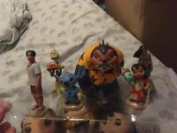 Disney lilo and stitch play set.