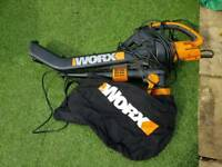 Worx garden shredder and vacuum