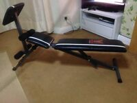 York fitness bench good condition !