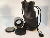 Carl Zeiss Sonnar T* 90mm f2.8 for Contax G (with leather pouch)