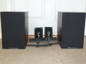 2 Wharfedale Diamond Pro speakers and AVF brackets.