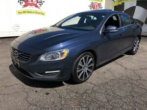 2015 Volvo S60 T6 Premier Plus, Leather, Sunroof, AWD