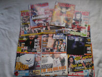 44 KERRANG MUSIC MAGAZINES - HEAVY METAL, PUNK, GRUNGE etc 1993 to 2005