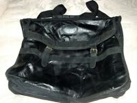 PAIR OF WEEKEND TRAVEL BAGS MADE BY COTTON TRADERS IN BLACK