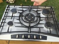 NEFF 5 gas ring hob. Excellent condition, sale only due to re fit of kitchen.