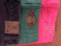 3 pairs of Ralph Lauren Jeans - size 7 (age 8-9)