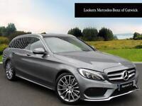Mercedes-Benz C Class C220 D AMG LINE PREMIUM (grey) 2016-09-07