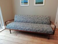Beautiful vintage sofa bed by Thomas and Greaves.