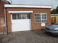 10 x 6 meter work shop for rent £500 PCM