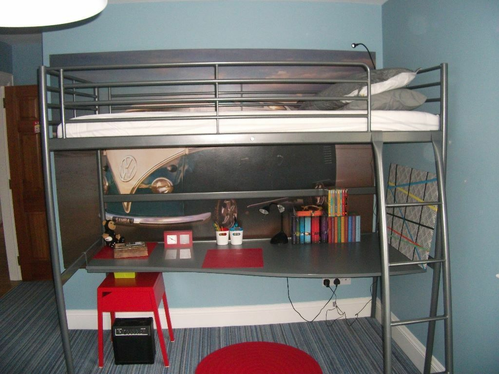 Ikea Svarta Loft Bed Bunk Bed Desk In Ballynahinch