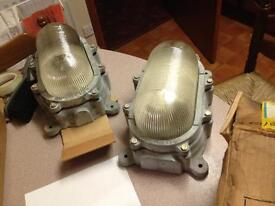 Vintage Bulkhead Lights