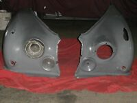 JAGUAR DAIMLER MK2/V8 FRONT METAL USED WINGS MATCHING PAIR