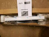 Linear wet room drain waste
