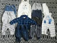 Baby boys clothes premature, newborn , 0-3 months Vgc