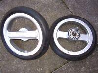 Silver Cross Surf Pushchair Pram 2x rear wheels