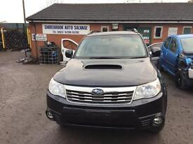 Subaru Forester 2010 breaking for spares replacement parts