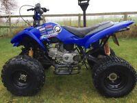 Quad 140 pitbike conversion