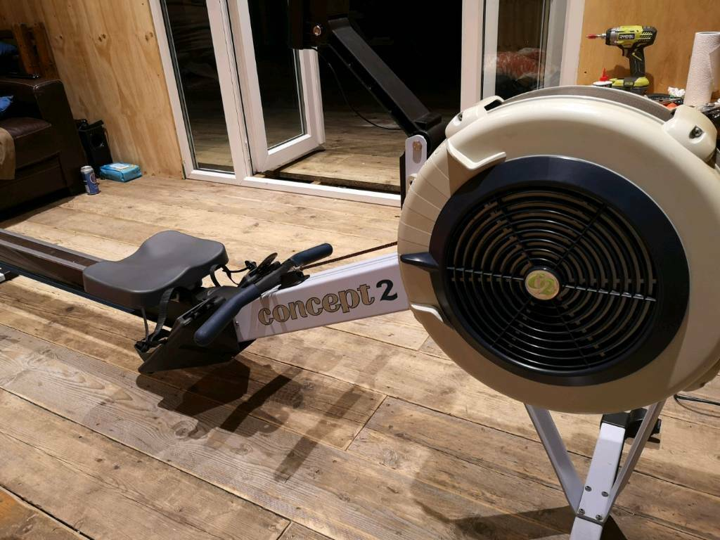Concept 2 Model D Rowing Machine Pm3 Monitor And Cover