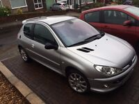 Peugeot 206 GTI, MOT October 2017, Sold with Cherished Plate