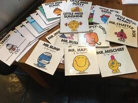 """Mr Men"" and ""Little Miss"" books"
