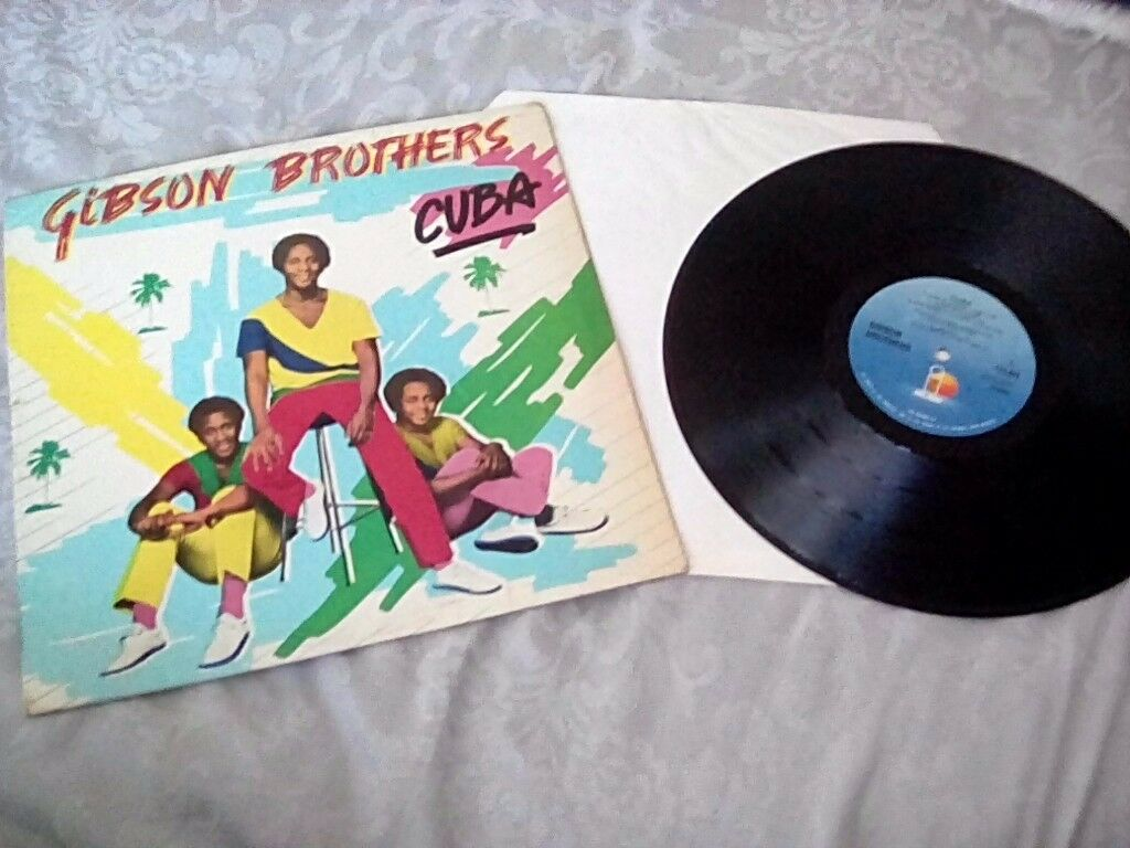 GIBSON BROTHERS CUBA ALBUM