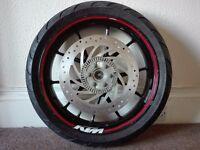 Front wheel KTM Duke