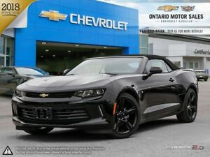 2018 Chevrolet Camaro 1LT CONVERTIBLE / BOSE SPEAKERS / MYLIN...