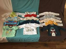 Baby boy's clothes 0-3 months