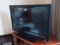 "32"" wide-screen HD TV"