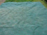 Green Breatheable Groundsheet or Awning Carpet VCG