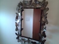 Butterfly Framed Mirror