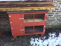Good quality solid rabbit hutches