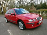2002 Rover 25. Good condition for age miles. 1 year mot