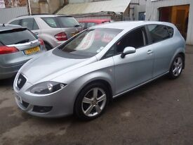 Seat LEON 2.0 TDI Sport,5 door hatchback,6 speed manual,sports interior,runs and drives very nicely