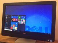 DELL 9010 23 inch All in One PC - i5 3470 Quad Core Windows 10, WEBCAM - USB 3.0 - HDMI - Computer