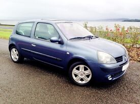 First Class Low Mileage Clio. 50 MPG.