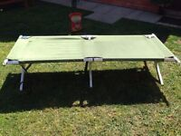 British Army Folding Cot Bed