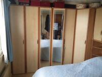 FREE overbed wardrobe suite FREE