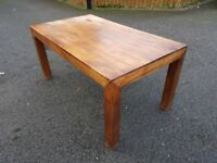 NEXT Solid Wood Table FREE DELIVERY 018