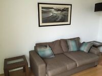 Designer 2 & 3 seater sofas, sofa beds and more good condition. Price reflects quick sale.