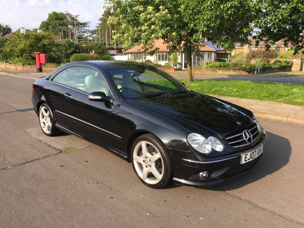 Mercedes clk 220cdi black coupe full leather full service for Mercedes benz tyres
