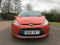 Ford Fiesta 1.4 Zetec Automatic 5dr Red 50K Mileage Part Ex welcome