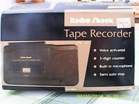 Tape Recorder By Radio Shack
