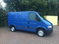 Low mileage Nissan Interstar with 12 months MOT similar to Renault trafic or Vauxhall vivaro