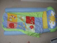 My First Ready Bed patchwork childrens inflatable air bed