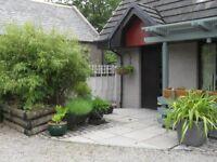 The Studio Craigearn, Kemnay, Inverurie, 2 Bedroom Detached Villa in Semi Rural Location